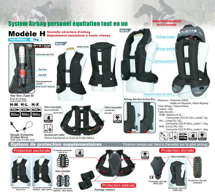 Gilet Airbag Light H - EQUITATION