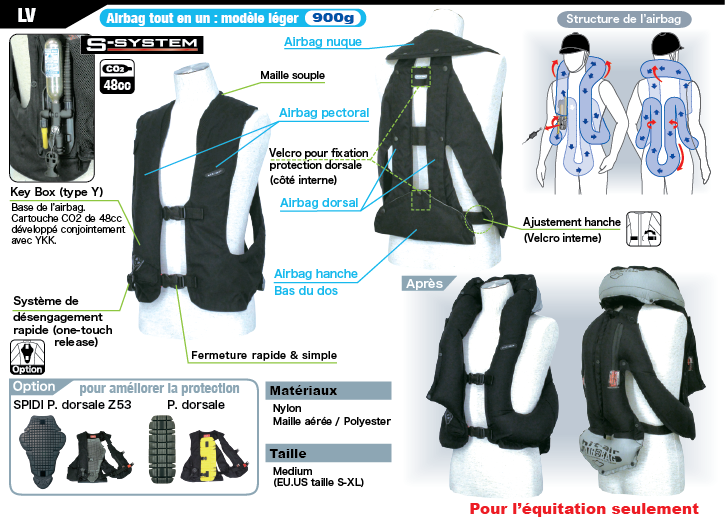 Gilet Airbag Light LV - EQUITATION